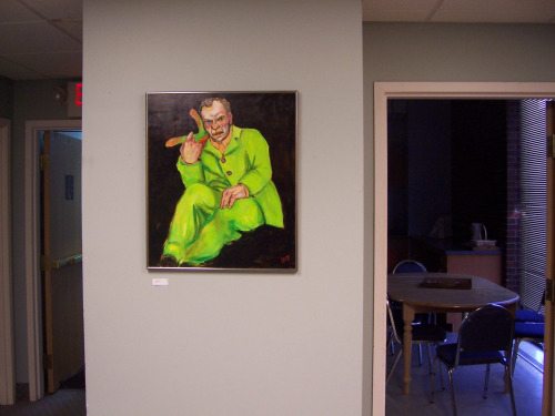 Rigoletto painting from Burton Leavitt Show