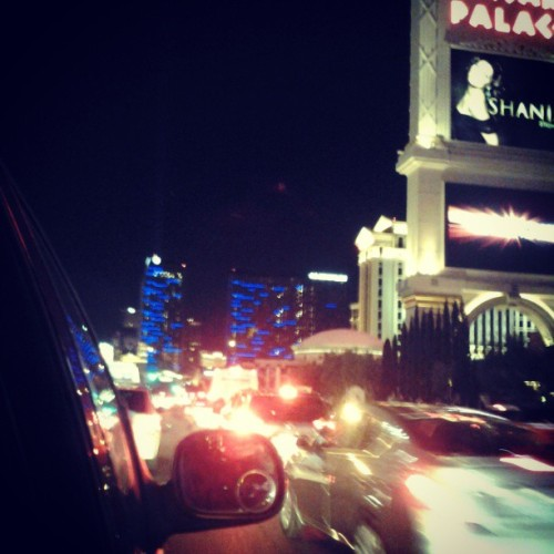 Traffic on the strip #LasVegas