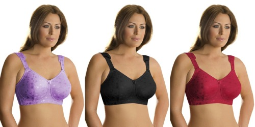 Lingerie of the Week: Elila Jacquard Soft Cup Bra. Available up to a 50N.