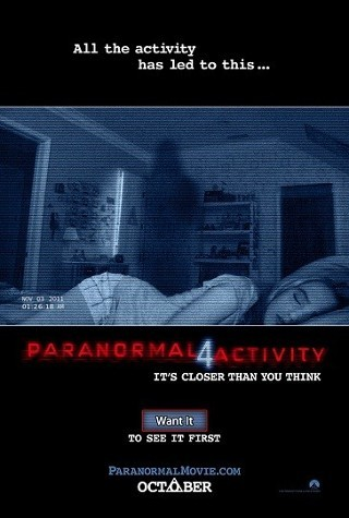 I'm watching Paranormal Activity 4                        Check-in to               Paranormal Activity 4 on GetGlue.com