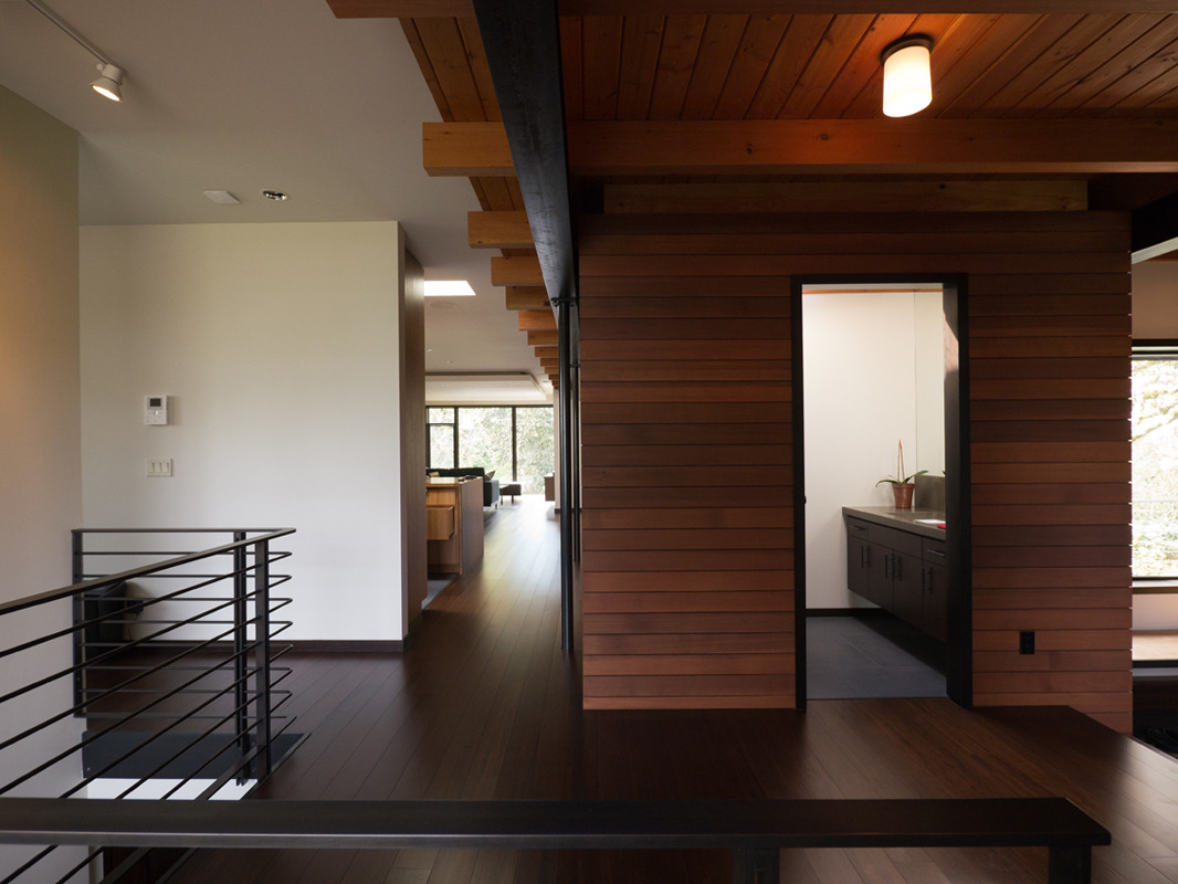 wabi treehouse | entry hall ~ erich remash architect