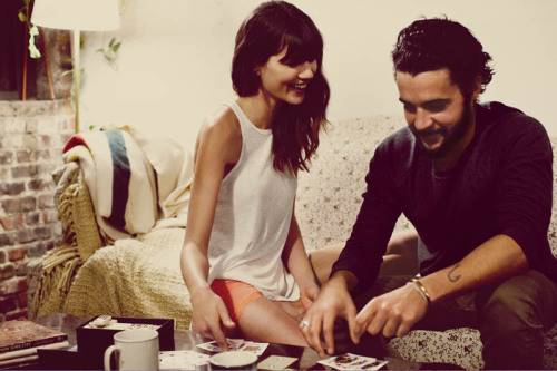 malofamerica:  Christopher Abbott and Sheila Marquez for Free People February 2013