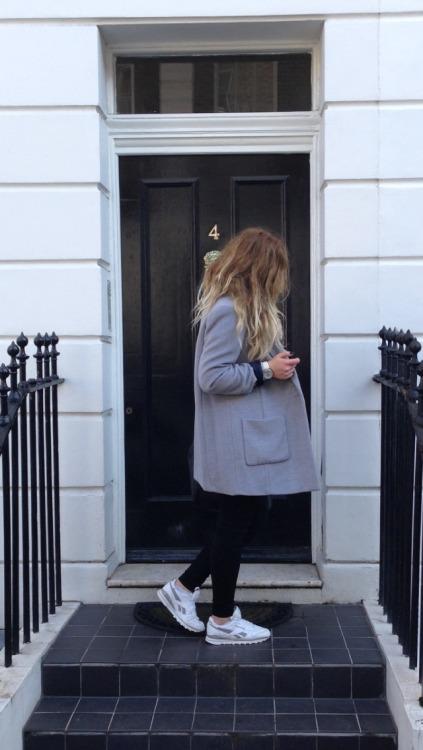 reebok reebok classic boyfriend coat london