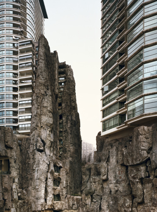 architectureland:  Valley, China, 2007 (by deSingel International Arts Campus)