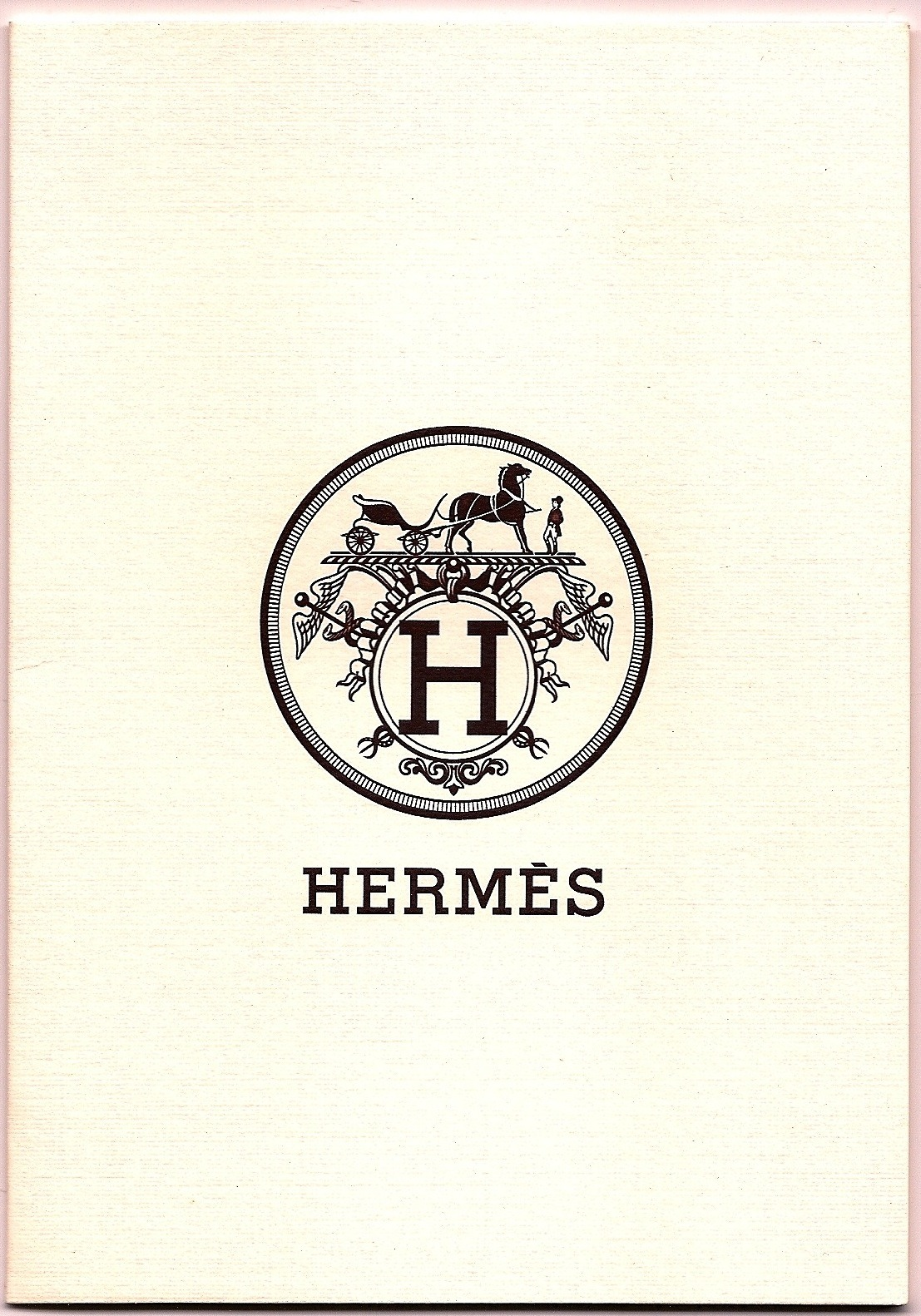 stationaryobjects:  Hermes receipt folder