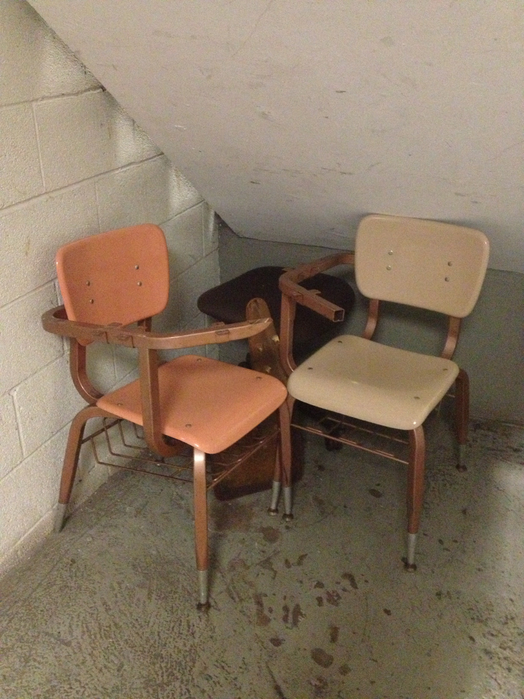 Forgotten chairs