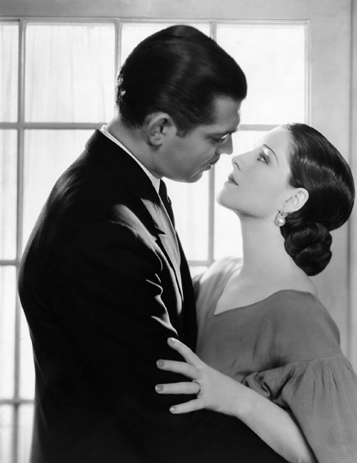 Clark Gable and Norma Shearer in Strange Interlude (1932)