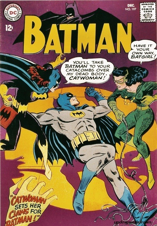 updownsmilefrown:  Batman #197 December, 1967.