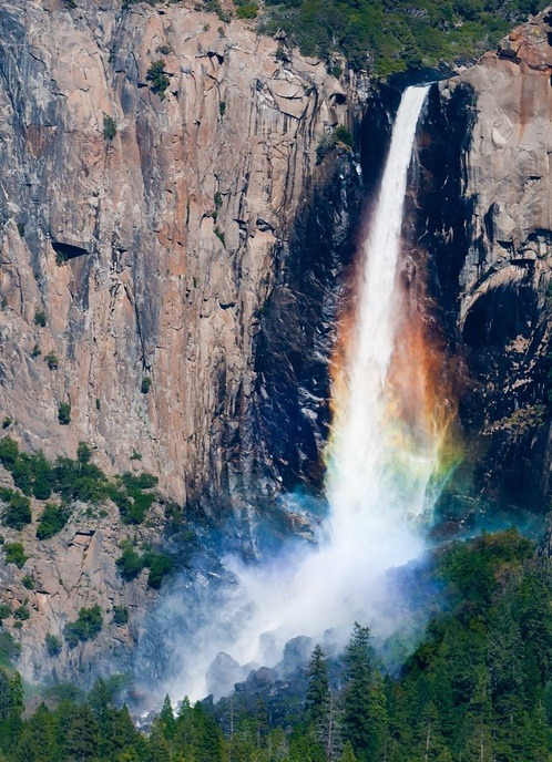 eocene:  Rainbow Veil - Bridalveil Fall, Yosemite National Park (by Darvin Atkeson)