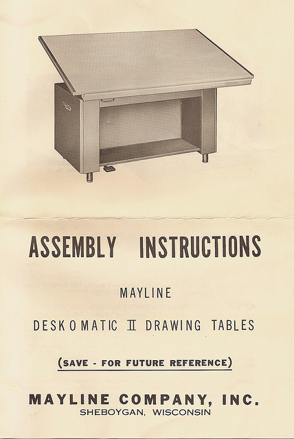 klappersacks:  Deskomatic Manual Front by carmelscribe on Flickr.