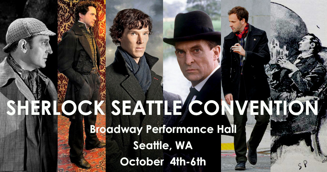 "sherlock-seattle:  SHERLOCK SEATTLE MEMBERSHIPS NOW AVAILABLE! Visit our website today to pick up your early-bird membership to Sherlock Seattle! From May 15th - July 15th memberships are only $35 (Basic) and $55 (VIP). After July 15th, prices will go up to $45 (Basic) and $65 (VIP), so don't delay! Special guests this year so far include author Leslie Klinger (""The New Annotated Sherlock Holmes""), playwright Lee Eric Shackleford (""Holmes & Watson""), artist Reapersun (red pants!), fanfic author and amateur historian AbundantlyQueer (""Two Two One Bravo Baker""), musician Caitlin Obom (""Purple Shirt"" and ""My Seven Percent Solution""), fan artist Inchells, media professor Liz Eckhart (professorfangirl), writer and director John Longenbaugh (""Sherlock Holmes and the Case of the Christmas Carol""), fan artist Feyuca, fanfic author and game show host Berlynn Wohl, fan artist Daunt, theater fangirls Sammy Scott and Alison Luhrs, and we expect many more! We hope to see you there!  Registered! :-D Looking forward to another year!"