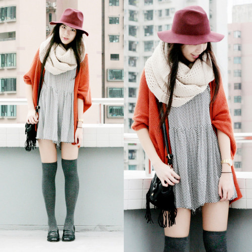 lookbookdotnu:  WARM TONES (by Zoe S)