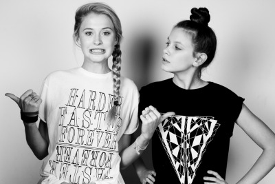 Carolyn and Maddy by Benn Healy 6 Styled by Caia Ryszkowska using Ilustrated People http://itsillustrated.tumblr.com/ http://www.illustratedpeople.com/  Keep original notes