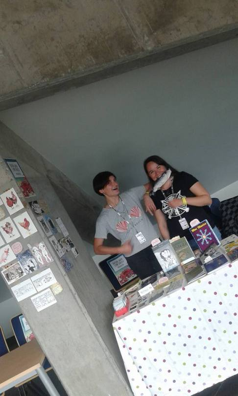 Some pictures from last weekend's comics festival in Łódź - 28. MFKiG. It was so great! Thank you gu...