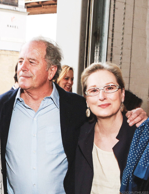 coconutmilk83:  Meryl Streep & Don Gummer | Foundation for Contemporary Arts Benefit, 2013 (✗)
