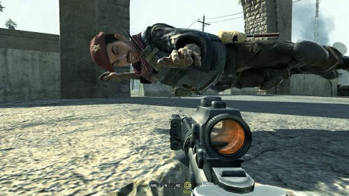 take-a-lot:  Call of Duty 4 - Modern Warfare   Excuse me, what are you doing?
