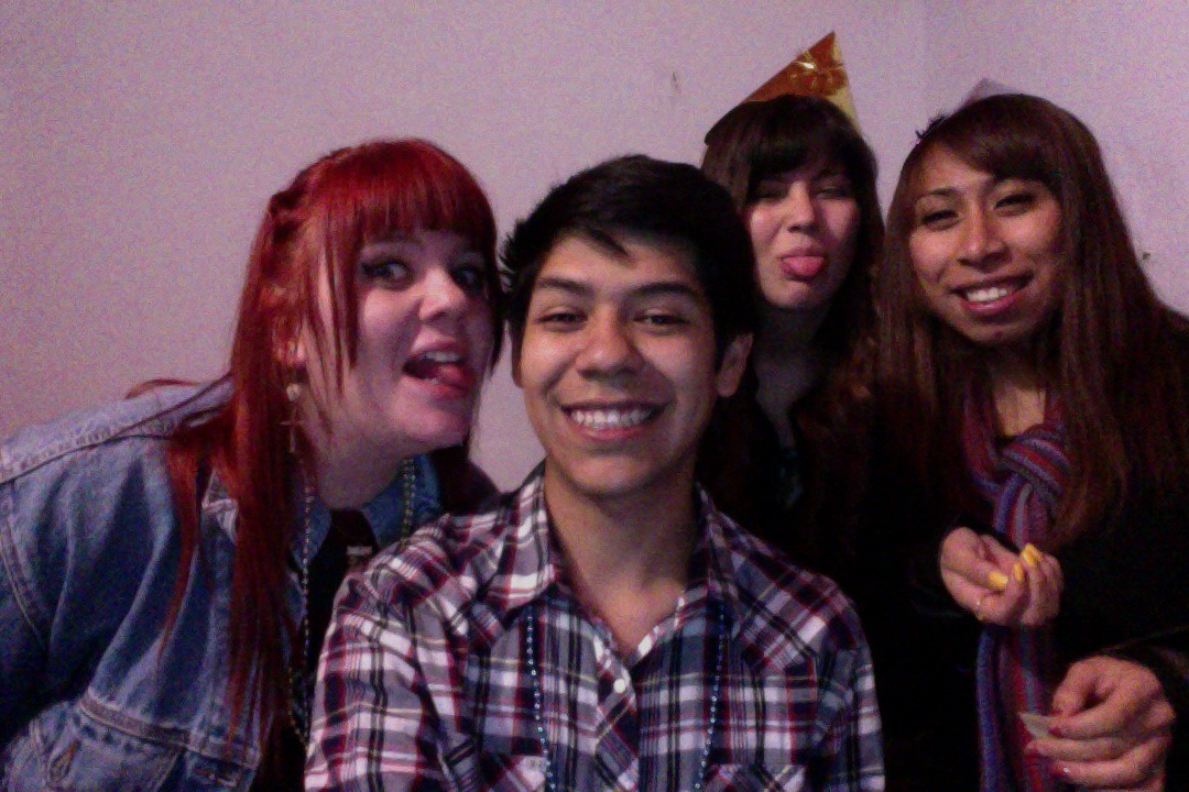 nosenianosabe:  New Years with the besties :)<3