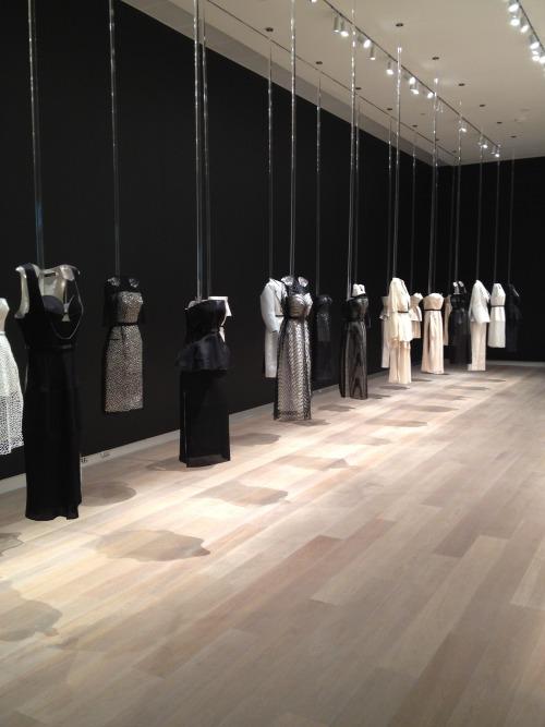 """The """"Francisco Costa for Calvin Klein Collection"""" exhibition at SCAD"""