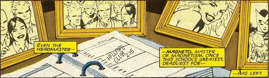 deviouslyratedm:  Can I just take a moment to appreciate that Magneto's desk is pictures of him, Charles and Gabrielle Haller, and group picture of him with his students, a gorgeous shot of Lee Forrester and a picture of Wanda with her babies. Can I just appreciate that.