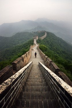 4nimalparty:  Great Wall at Dawn _ 2 (by SteMurray)