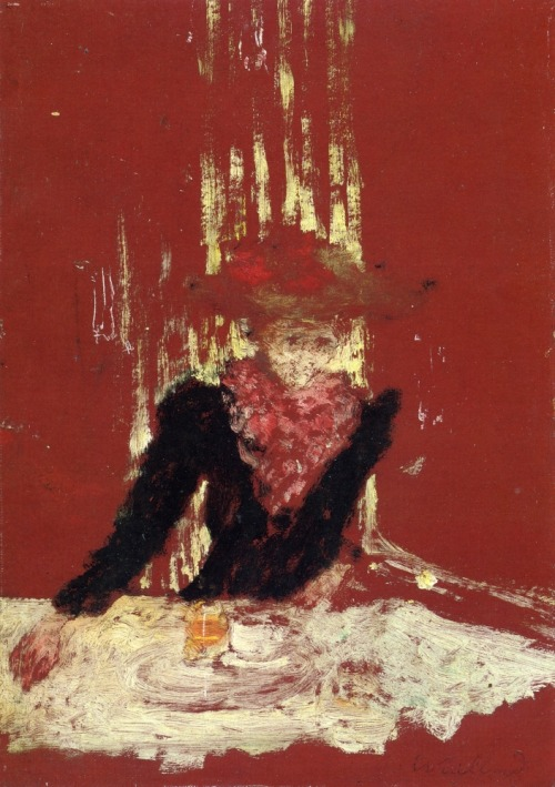 Edouard Vuillard- Woman with a Cup of Coffee (1895)