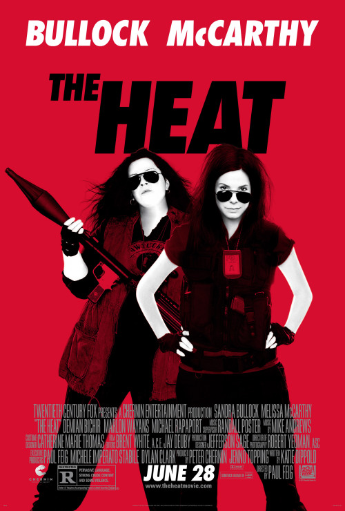 theheatmovie:  The Heat's new poster premiered on Pop Sugar today. Are these ladies badass, or what!?
