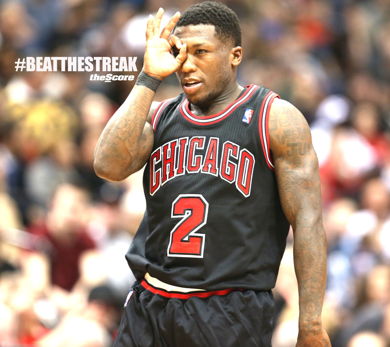 Photo: Nate Rob and the Bulls Beat The Streak.