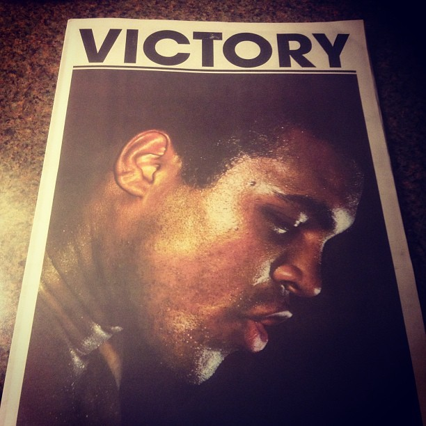 Victory Journal is the coolest sports publication ever printed. Gets at the core emotion and stories behind sports.