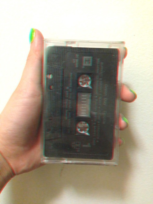 Green Day - Dookie On cassette.