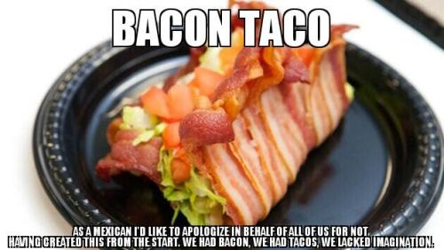 Bacon Taco…Indeed