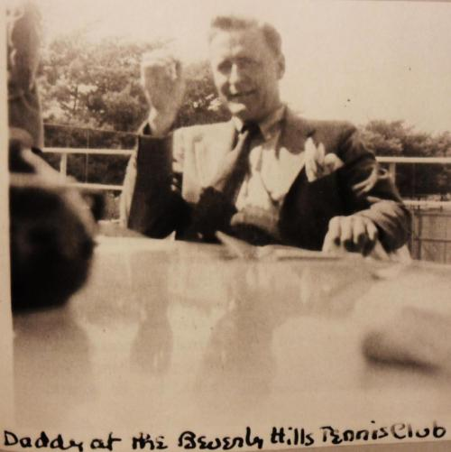 F Scott Fitzgerald at the Beverly Hills Tennis Club [X]