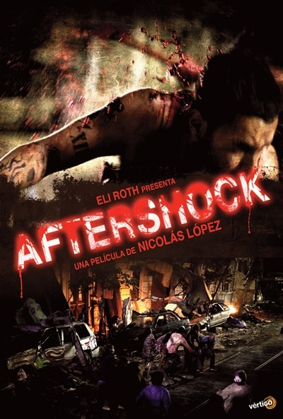"""Aftershock"" is a new horror movie set in Chile during the aftermath of an earthquake that has set free a group of the country's worst inmates. The film is co-written by and stars filmmaker Eli Roth (""Hostel""). Check out the first trailer now: http://www.cityonfire.com/feel-the-aftershock-trailer-starring-eli-roth/"