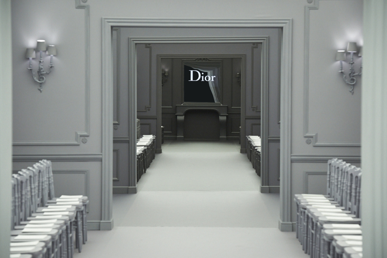 Christian Dior Couture SS13 in Shanghai  Saturday March 30th 2013, Five on the Bund  The set before the show  Produced and directed by Bureau Betak  Photo by Ian Tong