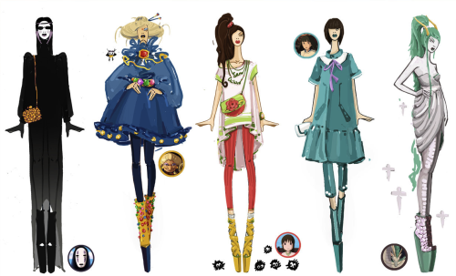 Spirited Away Runway | Sashiiko-Anti