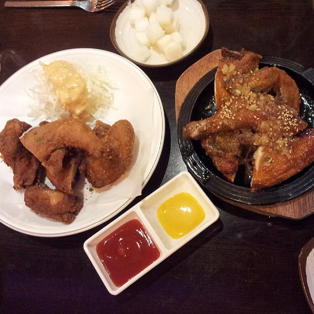 Chicken time at Samtong!