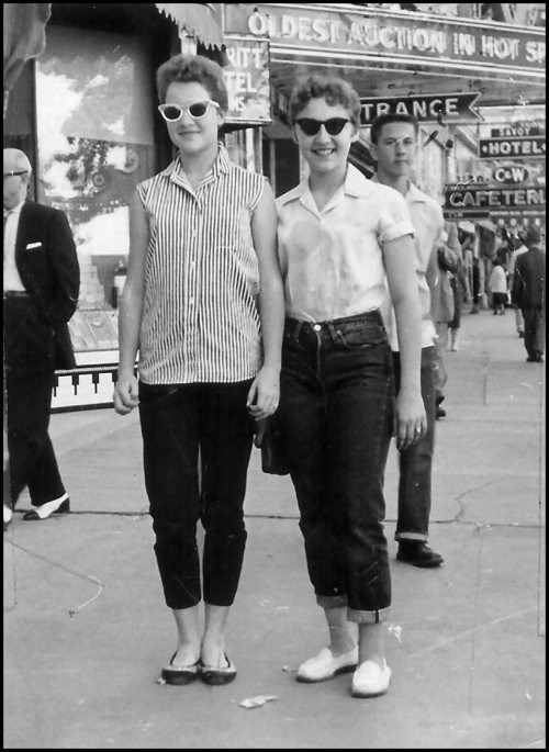 queensofvintage:  1950s denim
