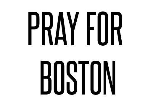 kcgraphics:  Pray for boston and for the families affected by this horrible tragedy.  So much evil in this world smh.
