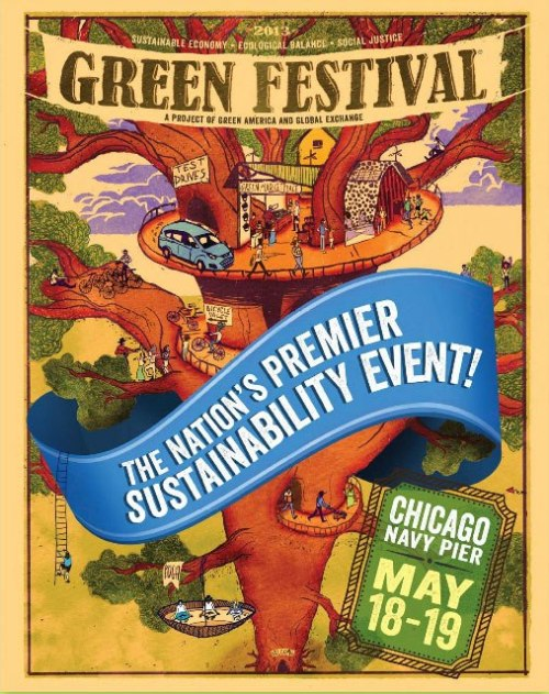 UR AWESOME: Go to Chicago's GREEN FESTIVAL at Navy Pier for FREE!Green Festival Chicago is this weekend (May 18-19th) at Navy Pier! First 250 people to enter the code URCHICAGO right here: http://www.greenfestivals.org/chi-2013-giveaway get FREE passes good for both days! SO MUCH WIN! Green Festival Chicago features leaders in the environmental and social justice community include over 100 speakers, entrepreneurs and activists such as Dylan Ratigan, Amy Goodman, Marianne Williamson, Emmanuel Pratt, Danny Seo, in addition to a number of other activities and events, such as a two-day upcycled fashion experience and fashion show by Columbia College students. Learn more at greenfestivals.org/chi! LIKE the Green Festivals Facebook Page and FOLLOW Green Festivals on Twitter!
