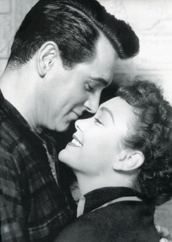 aladyloves:  Rock Hudson and Jane Wyman in All That Heaven Allows (1955)