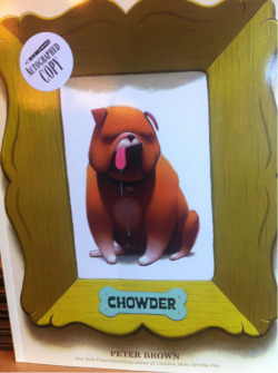 STAFF PICK (15% OFF!) - Chowder by Peter Brown Being different is just a part of being human. We all know that by now (well, hopefully). But is it true even when you're an adorably round and lovable pup, too? YEP! Chowder is the unbelievably charming story of a bulldog who reminds me of myself more than most characters in novels out there. …And I'm pretty proud of that. It's also the cutest rendition of a bulldog I've ever seen. It really is the perfect children's book: great art, great message, adorable dog. What more do you need in life?! (Krystal)