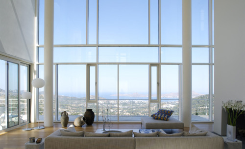 bodrum house | living ~ richard meier & partners