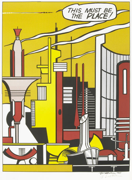 thingsmagazine:  This Must be the Place, Roy Lichtenstein, 1965  A favourite artist of mine.