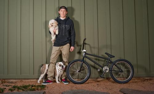Every dog will have its day, and today that goes to X Games BMX Park pro Chase Hawk's bike (along with Lucy and Oscar). http://es.pn/12rZUSX