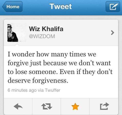 ynotmi:  wiz khalifa quotes | via Facebook on We Heart It - http://weheartit.com/entry/62139640/via/TrangHennessy Hearted from: https://www.facebook.com/photo.php?fbid=437733342936031&set=a.260961800613187.62851.100000981064672&type=1&theater