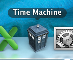 doctorwho:  evansmiller:  I backup my Mac with a TARDIS. What do you use?   Part three of three random posts from the 'whovians' Tumblr tag  The real question is: is it smaller in the outside?
