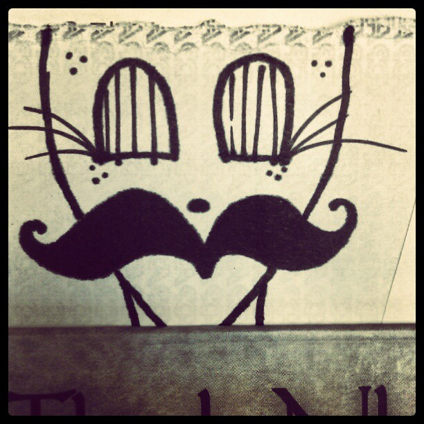 I mustache you a question…