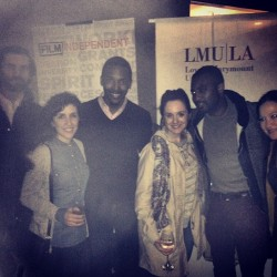 W/@IamLifestyle & friends at  @FilmIndependent & @LMULA's @TriBeCaFilmFest party #TFF @Tr (at Bumble & Bumble)