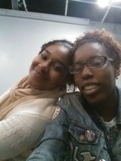 Me and my V1 i missed her od but she is doing her thing in school and in life I'm proud of her