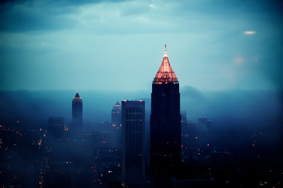 slaying:  Atlanta Skyline by Colton Rabon on Flickr.
