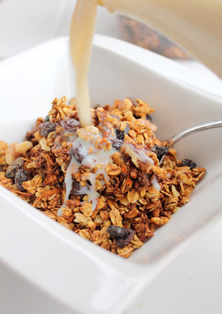 up with muesli!